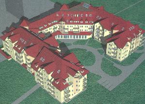 Projekt budowy Ośrodka Seniora Wyższych Uczelni Wrocławia